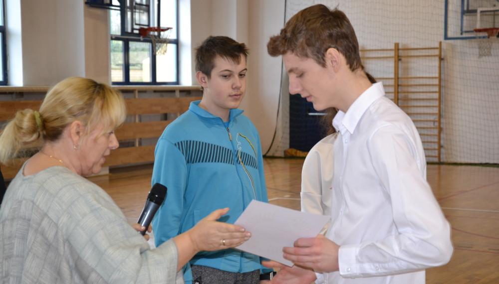Konkurs wiedzy o patronie i historii szkoły